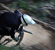 2009 NSWMTB State Down Hill Championships - Lithgow by Mark  Hodges