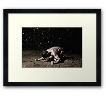 Desired Is The End Framed Print