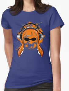 Inkling girl (Orange) Womens Fitted T-Shirt