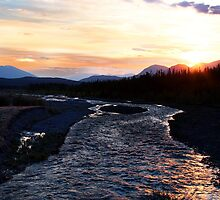 2:30 am Sunrise on Quill Creek by Yukondick