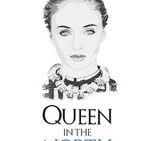 Sansa Stark - Game of Thrones - Queen in the North by Sithuralom