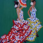 Flamenco Dancers by ecklandcort