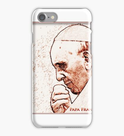 Pope Francesco, Rome iPhone Case/Skin