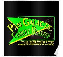Fictional Brew - Pan Galactic Gargle Blaster Poster