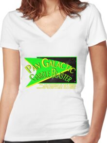 Fictional Brew - Pan Galactic Gargle Blaster Women's Fitted V-Neck T-Shirt