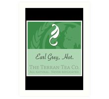 Fictional Brew - Earl Grey, Hot. Art Print