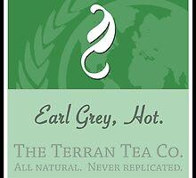 Fictional Brew - Earl Grey, Hot. by Amanda Mayer