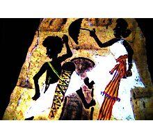 Dancing whit umbrella Photographic Print