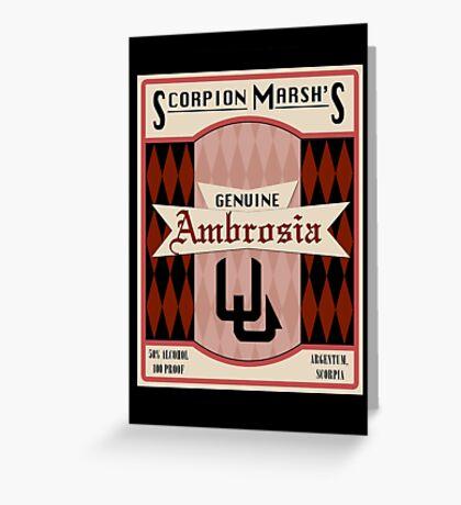 Ambrosia - So Say We All Greeting Card