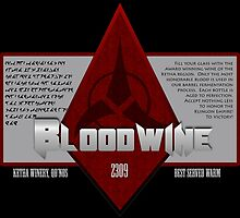 Bottle of Bloodwine by Amanda Mayer