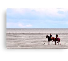 Horseback Riding Canvas Print