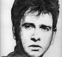 Peter Gabriel by bournemonkey