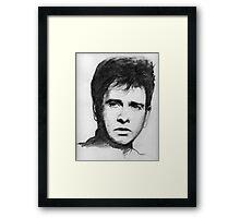 Peter Gabriel Framed Print