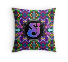 String Cheese Incident - Trippy Pattern Throw Pillow