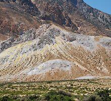 Volcanic rocks, Nisyros by David Fowler