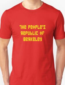 The People's Republic of Berkeley (yellow letters) T-Shirt