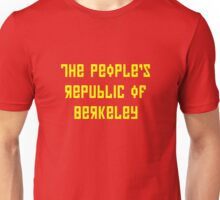The People's Republic of Berkeley (yellow letters) Unisex T-Shirt