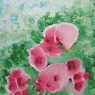 Wave Petunias by linmarie