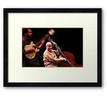 Manu Codja and Henri Texier Framed Print