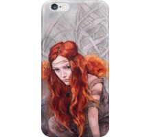 Warrior In Winter iPhone Case/Skin
