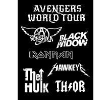Avengers World Tour Photographic Print