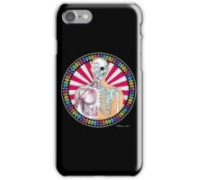 Psychedelic Anatomy Black iPhone Case/Skin