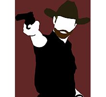 Rick Grimes Silhouette Photographic Print