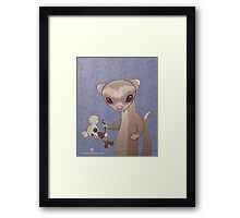 Fizzy The Ferret Framed Print