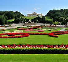 Garden at Schonbrunn Palace 1 by MaluC