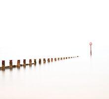 Groyne and Marker by PaulBradley