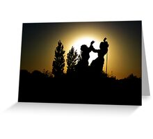 And We Shall Dance..! Greeting Card