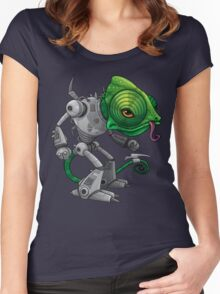Chameleozoid Women's Fitted Scoop T-Shirt