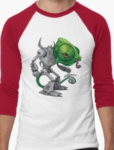 Chameleozoid Men's Baseball ¾ T-Shirt