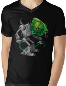 Chameleozoid Mens V-Neck T-Shirt