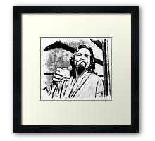 Big lebowski Framed Print