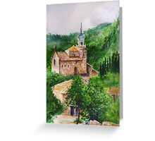 Valldemossa Mallorca Greeting Card