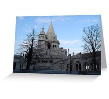 The Fisherman's Bastion, Budapest Greeting Card