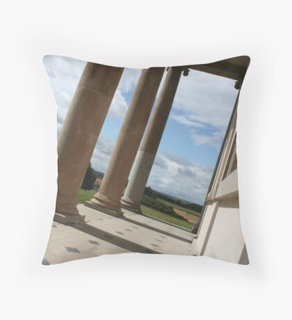 Temple of Minerva Throw Pillow