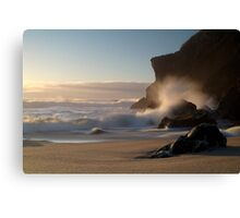 Kohaihai Bluff, North Westland, New Zealand Canvas Print