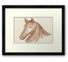 Horse Mane 3 Framed Print