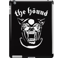 Motor Hound (Game of Thrones / Sandor Clegane Shirt) iPad Case/Skin