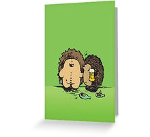 Wasted Greeting Card
