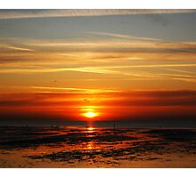 sunset and sky Photographic Print