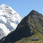 The Mönch and the Lauberhorn by mjdennison
