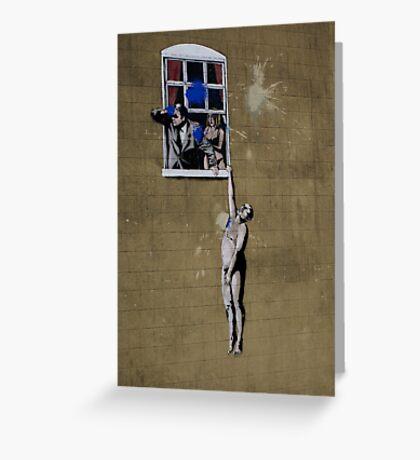 Banksy Bristol Love Cheat Greeting Card