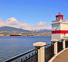 Vancouver and Stanley Park by MaluC