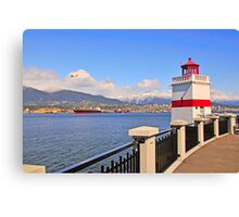 Vancouver and Stanley Park Canvas Print
