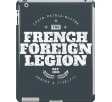 French Foreign Legion - Honour and Fidelity iPad Case/Skin