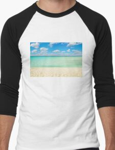 Varadero Beach, Cuba Men's Baseball ¾ T-Shirt