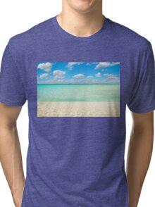 Varadero Beach, Cuba Tri-blend T-Shirt